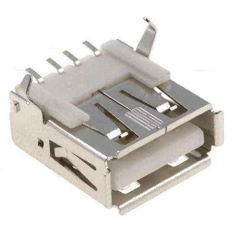 Conector USB Hembra SMD 4 pin