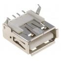 Conector USB A Hembra SMD 4 pin
