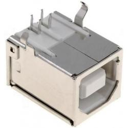 Conector USB B-Hembra PCB 4 pin