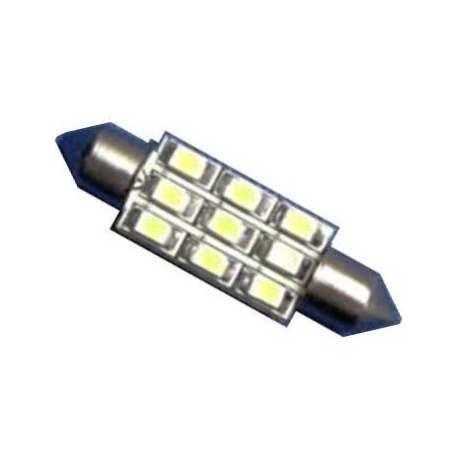 Festoon 9 LED 1210 SMD de 36mm