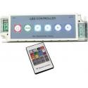 Controlador PWM para Led RGB 12-24v. Mando IR