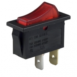 Interuptor basculante de panel