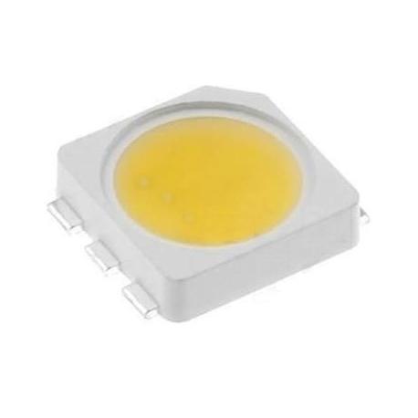 Led Smd 5252 3 Chip Blanco Cálido