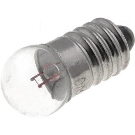 Bombillas de filamento E10 Redonda