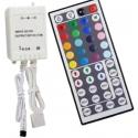 Controladores RGB Mando 44 teclas IR 12v