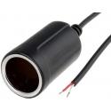 Base Conector mechero hembra 12v 5A
