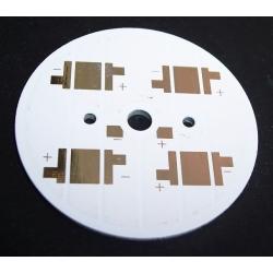 Circuito Impreso 49mm para 4 Led CREE XRE, Lumiled