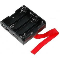 Portapilas Circuito Impreso Keystone 4xAA, R6 14500