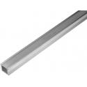 Perfiles de Aluminio 1 y 2 Metros de 16x12mm
