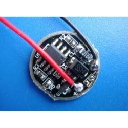 Driver de corriente para LED CREE 700-800mA 1-3-5 modos 17mm