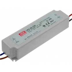 Fuentes Mean-well-LPC estancas Led-Varias