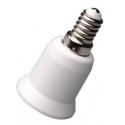 Adaptador de Lámparas E27-E14