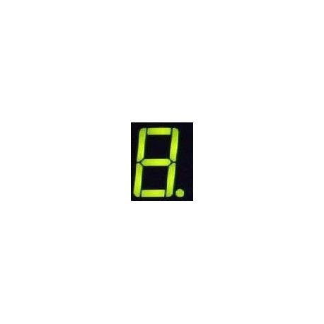 Display Led un dígito Cátodo común Verde