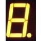 Display Led un dígito Cátodo común amarillo