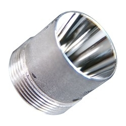 Reflector Aluminio 20x20mm para Led CREE XRE