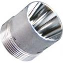 Reflector Aluminio 20x20mm para Led