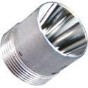 Reflector Aluminio 20x20mm para Linternas Led Cree