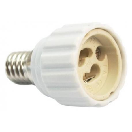 Adaptador de Lámparas GU10-E14
