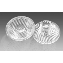 Lentes de 20mm Strip-Eliptica para LED