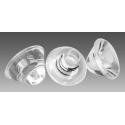 Lentes Transparentes de 20mm para Led