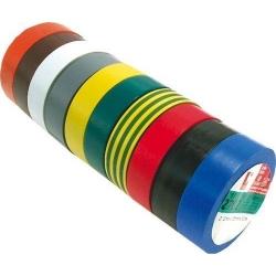 Cintas Aislantes Adhesivas de 19mm Varios Colores