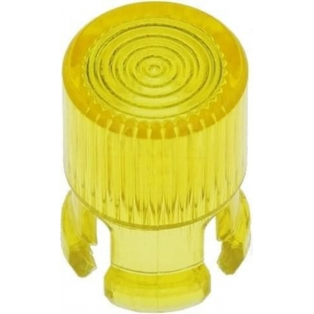 Embellecedores tubular para Led de 5mm amarillo
