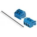 Bornas circuito impreso enchufables 5mm DG
