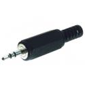 Conectores Jack 2.5mm Macho Aereo