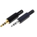 Conectores Jack Macho Aereo 3.5mm