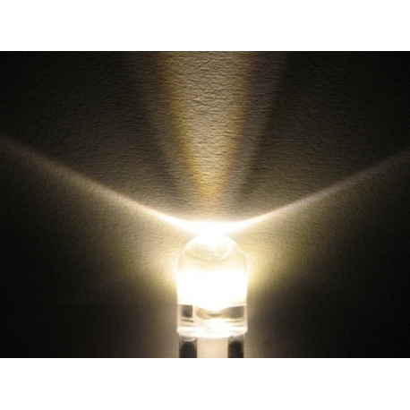 Led Water Clear Superbrillo 8mm