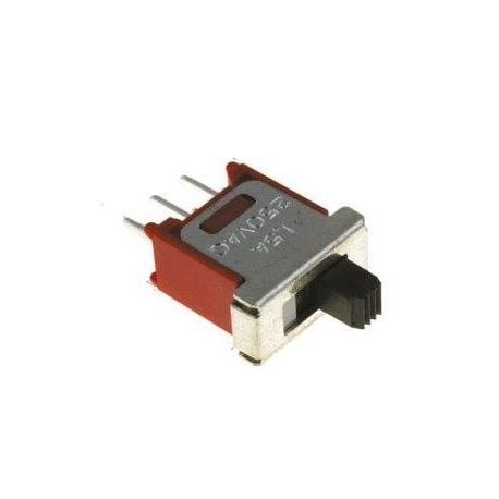 Interruptor deslizante recto TS4S 2 posiciones