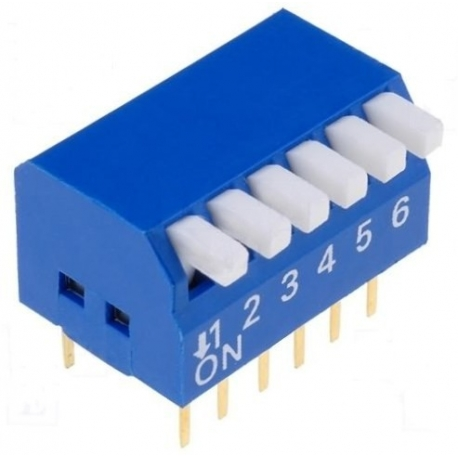 Switch Mini Dip piano 6p