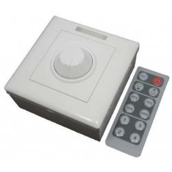 Controlador PWM para Led 12-24v. 8A.Mando IR
