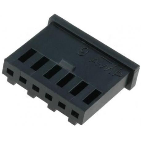 Conectores AMP-MOD paso 2.54mm 6pin