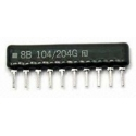 Array (Puente) Resistencias 10pin 9+1-Varios