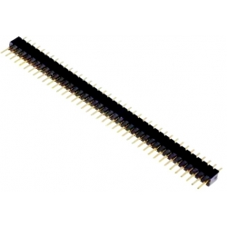 Tiras de Pin Rectos de 1.27mm Varios
