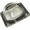 Óptica de cristal Cuadrada para suelos 100x80x30mm