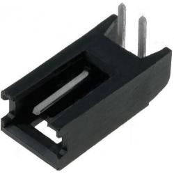 Conectores Macho AMP-MOD Acodado 2pin paso 2.54mm