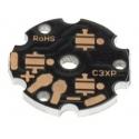 Pcb redondo Star 20-22mm para 3-4 Led CREE XP-G, XT-E