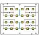 Circuito Impreso (Alu-Pcb) para 24 Led CREE XP-G