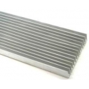 Disipador Térmico Aletas 100x25mm- 300/500 y 1Metro