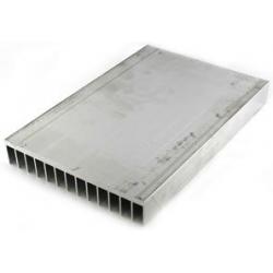 Disipadores Térmicos Aletas 126x16mm de 300/500 y 1Metro