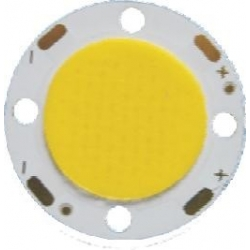 Led COB Redondo- 8w de 28-21mm