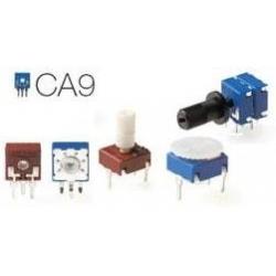 Ejes de mando para Potenciómetros CA9