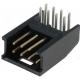 Conectores Macho AMP-MOD Recto doble paso 2.54mm