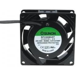 Ventilador refrigeración 220v. 80x80x25mm