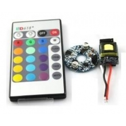Set Driver 1 Led RGB GU10-E27