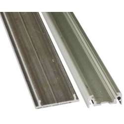 Perfil de Aluminio para Tiras de Led, 20x8mm 1 Metro