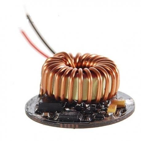 Driver regulador de corriente 6106 p/LED CREE-P4 5~8.4v 15w.5 modos