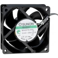 Ventilador refrigeración de 220v. 70x70x25mm